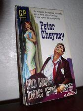 No Hay Dos Sin Tres by Peter Cheyney (G.P.Polociaca #A25, 1960,Paperback)