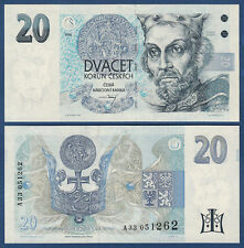 TSCHECHISCHE REPUBLIK / CZECH 20 Korun 1994 UNC  P.10 a