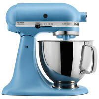 NEW KitchenAid Artisan Series 5 Quart Tilt-Head Stand Mixer Matte Velvet Blue