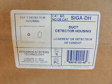 New in Sealed Box Edwards SIGA-DH Duct Detector Housing Fire Alarm