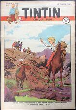 TINTIN Édition belge fascicule n°8 du 19 février 1948 Bon état