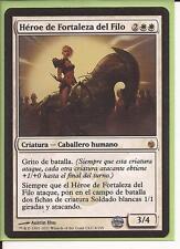 HEROE DE FORTALEZA DE FILO Mirrodin Sitiado ESPAÑOL Hero of bladehold MTG