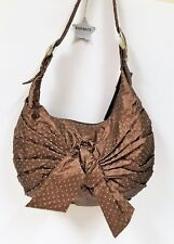 NEW CANDICE METALLIC BRONZE,BROWN STAR BRITE HOBO, SHOULDER SHOULDER BAG