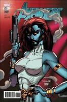Avengers #9 Jim Lee X-Men Card Variant Cover