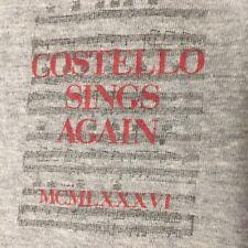 Elvis Costello 1986 T-shirt