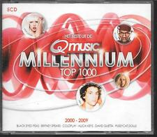 COFFRET 5 CD COMPIL 100 TITRES--MILLENNIUM TOP 1000--SPEARS/MIKA/GUETTA/COLDPLAY