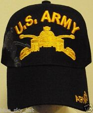 NEW U.S. ARMY YELLOW ARMOR BRANCH SCHOOL COMBAT CAVALRY FORCES M-26 TANK CAP HAT