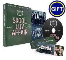 BTS - [Skool Luv Affair] 2nd Mini Album CD+PhotoBook+2Photocards+[GIFT SET] kpop