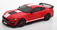 FORD SHELBY MUSTANG GT500 FAST TRACK RED GREAT DETAIL DIECAST MODEL 1:18 SCALE