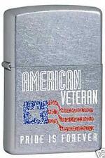 Zippo veteran flag Lighter 6379