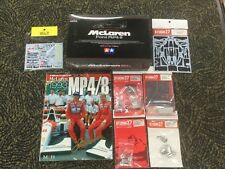 1/20 Tamiya McLaren Ford MP4/8,Studio 27 upgrade parts, Tabu decals, MFH Book.