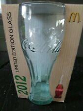 Coca Cola Glas, Limitierte Edition Olympia in Originalverpackung, 2012