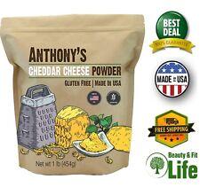 Cheddar Cheese Powder 1 lb Gluten Free No Artificial Colors for Popcorn Veggies