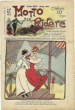 SATIRA-UMORISMO_Il Motto per Ridere_Anno XXI  N.518, 1915/20* ill. F. SCARPELLI