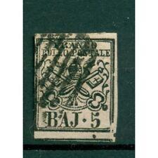 Etats Pontificaux 1852/64 - Y & T. n. 6 - Armoiries 5 baj. (x)