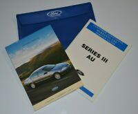 FORD AU OWNERS MANUAL  -  NEW GENUINE FORD FALCON FAIRMONT XR + WARRANTY GUIDE