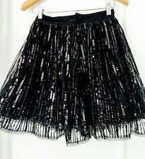 ALANNAH HILL DESIGNER SEQUINED STUNNING SKIRT SZ 6