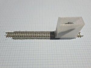Budget N gauge ballast spreader - ballast layer