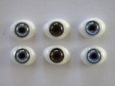 Augen Im Glas Briefbeschwerer 14 MM Für Puppen Antike Oder Moderne - Reborning
