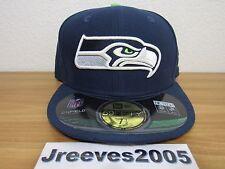 NWT New Era NFL SEATTLE SEAHAWKS Hat Sz 7 1/2  100% Authentic Retail $34.99