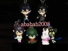 Bandai Blue Exorcist 02 strap figure gashapon (set of five strap figures)