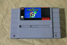 USED Super Mario World SNES (NTSC) Tested and Working! CART ONLY!
