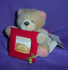 """ANDREW BROWNSWORD """"FOREVER FRIENDS  TEDDY WITH PHOTO FRAME, WI/ TAG (#B51-40)"""