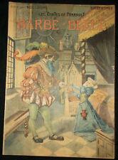 Barbe-Bleue - Contes de Perrault - 1909 - illustration de Vaccari - grand format