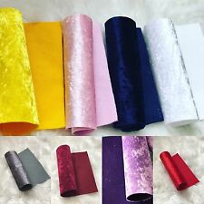Soft Printed Velvet Felt Fabric Matching Felt Sheet A4 Craft Bow Maker DIY+ Lot