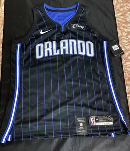 Nike Swingman Connect Jersey Sz 48 Striped Orlando Magic Vtg Og Rare Lot