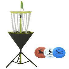 Portable Disc Golf Basket Target Catcher Practice Outdoor Frisbee Game