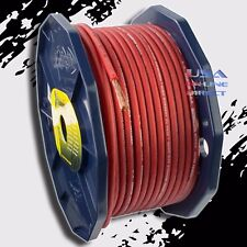8 Gauge OFC Copper AWG RED Power Ground Wire Car Audio Amplifier Speaker Cable