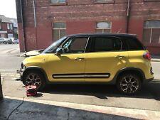 2013 Fiat 500L Trekking Breaking Spares Repairs Salvage Yellow 1.6 Diesel Manual