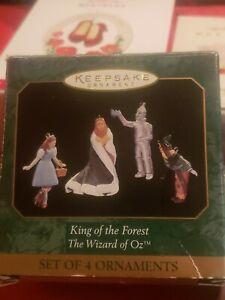 hallmark keepsake ornaments wizard of oz 1997