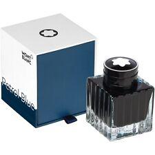 Montblanc tinta/tintero, Ink bottle, petrol Blue, 50ml, 119569, neu&ovp