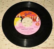Vintage Barbie Instant Love & Barbie 45Rpm Record to Barbie Sings! Circa 1961