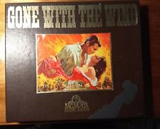 Gone With The Wind VHS Two Tape Set Hi-Fi Stereo MGM/UA Clark Gable,Vivien Leigh