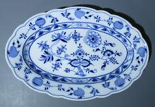 TEICHERT Zwiebelmuster ------------ ovale Platte ------ 35 x 23 cm