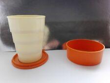 vintage Soviet USSR plastic folding cup cup souvenir souvenir cup