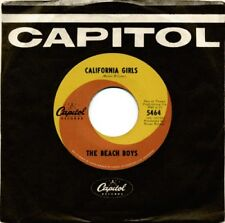 "Beach Boys - California Girls RARE ORIG 1965 Canadian Capitol Swirl 7"" 45 (NM+)"