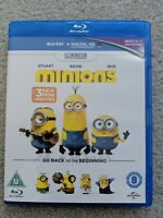Minions  Blu Ray Film Family Film