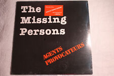 Agents Provocateurs - The Missing Persons US orig' SEALED Cleancut LP 1981