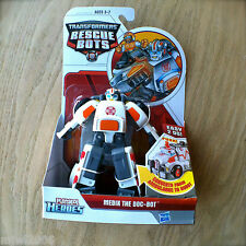Transformers RESCUE BOTS MEDIX The DOC-BOT PLAYSKOOL HEROES Hasbro Ambulance OLD