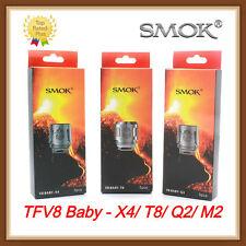 Authentic SMOK TFV8 Baby Coils V8-Q2/M2/X4/T8/RBA for TFV8 (Big) Baby Beast Tank