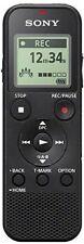 Sony Icd-px370 Dictaphone Numérique 4gb avec Slot Micro SD Noir