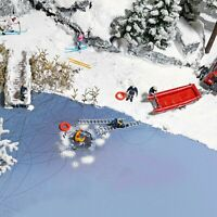 Busch 7855 NEW HO (1:87) / OO (1:76) Action Set: Ice Rescue