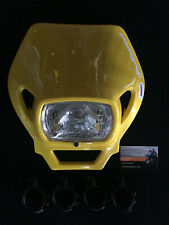 DOT Approved Polisport MMX Universal White Headlight 75-866-3SW  8663500001