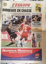 L'Equipe Journal 18/9/1999; Oscar De La Hoya-Félix Trinidad à Las Vegas/ Ullrich