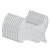 Pack of 10pcs White Pearl 4Ply Pickguards 8Holes for Fender TELE Style Guitar