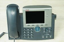 Cisco CP-7945G Unified VoIP IP LGD Display Conference Phone Gig PoE 180DaysWty